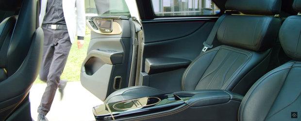 Noi imagini oficiale au fost publicate chiar acum: Mercedes S-Class nu mai este masina cu cel mai spectaculos interior!