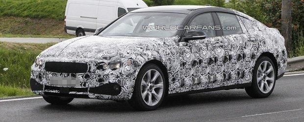 Noi imagini spion cu BMW Seria 3 / Seria 4 GT
