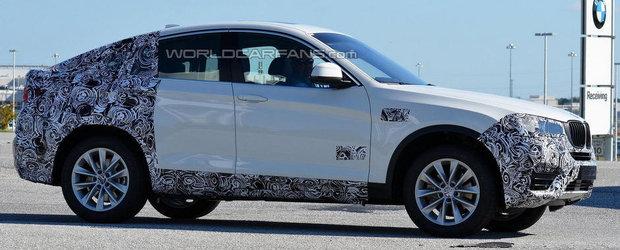 Noi imagini spion cu viitorul BMW X4