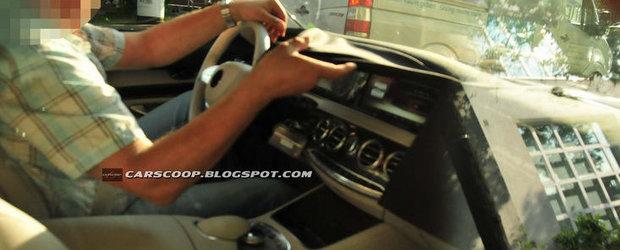 Noi imagini spion cu viitorul Mercedes S-Class, primele cadre cu interiorul - UPDATE VIDEO!