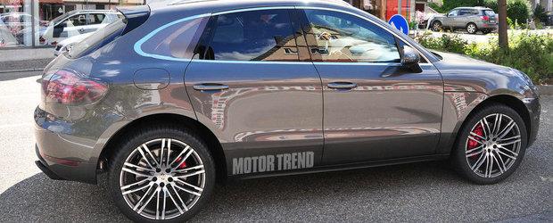 Noi imagini spion cu viitorul Porsche Macan