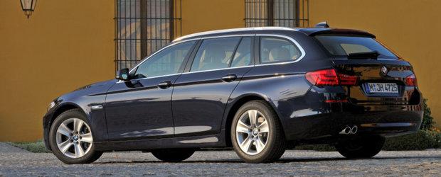 Noi motorizari pentru recent-lansatul BMW Seria 5