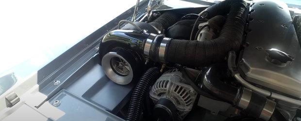 Noi o asemenea masina NU AM MAI VAZUT pana acum. Are MOTOR DIESEL DE 1500 CP si 4062 Nm