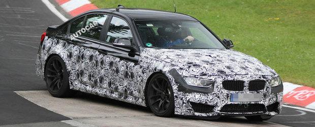 Noi picanterii despre urmatoarea generatie a modelului BMW M3