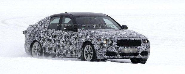 Noi poze spion cu BMW Seria 3 GT