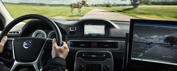 Noi sisteme de siguranta de la Volvo