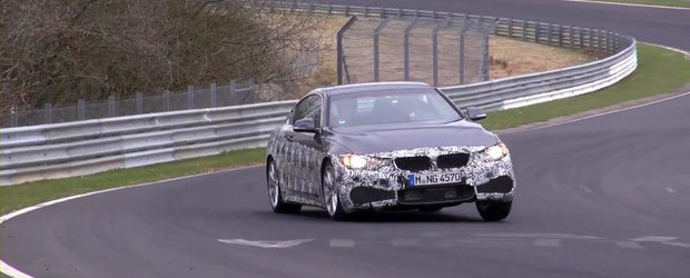 Noile BMW M235i si M435i Coupe isi incordeaza muschii la Nurburgring. VIDEO SPION AICI!