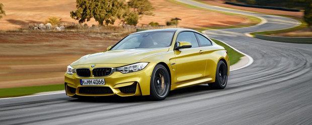 Noile BMW M3 Sedan si M4 Coupe 2014. POZE si DETALII TEHNICE