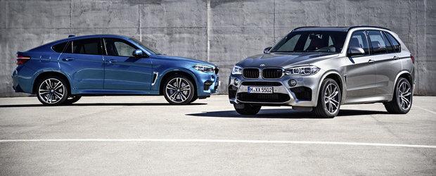Noile BMW X5 si X6 M impart titlul de cel mai performant SUV al planetei