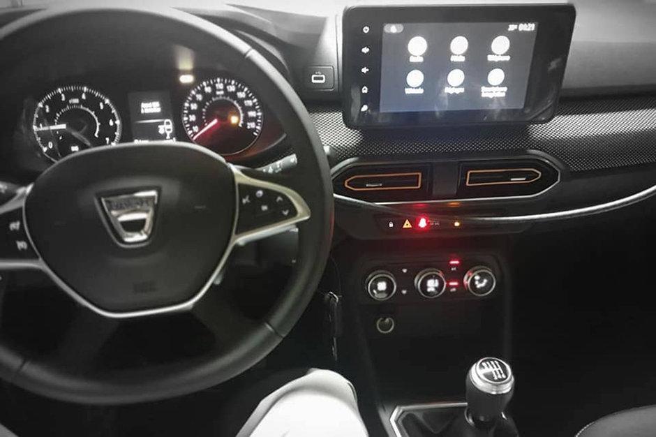 Noile Dacia Logan si Sandero - Poza interior