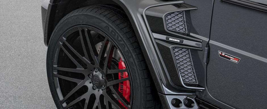 Noile G63 AMG de la BRABUS sunt nebunie curata. Productie limitata la 10 exemplare si 800 CP sub capota