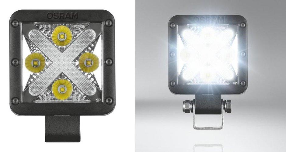 Noile lumini de zi si de lucru OSRAM LEDriving
