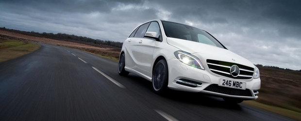 Noile Mercedes A si B-Class primesc tractiune integrala in Marea Britanie