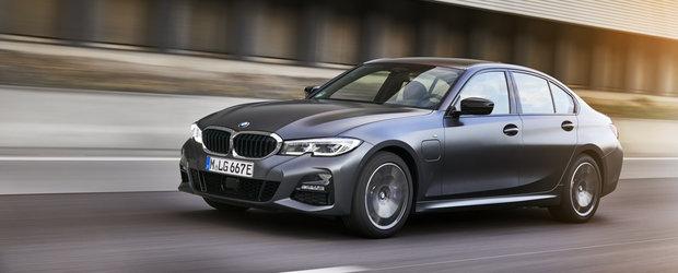 Noile modele de la BMW au 204 cai putere si pot face pana la 57 de kilometri fara sa consume strop de benzina
