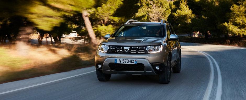 Noile modele de la Dacia vor fi limitate la 180 km/h