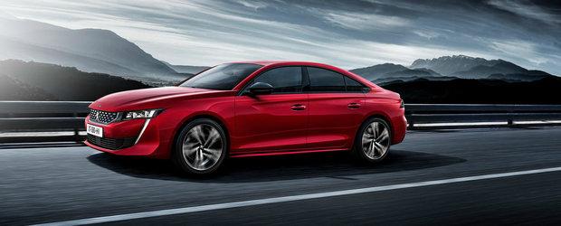 Noile vesti nu vor fi deloc pe placul germanilor. Peugeot lucreaza la un rival de 300 CP pentru Volkswagen Passat