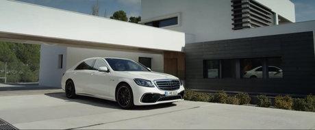 Nota 10 pentru design! Noul Mercedes S-Class Facelift arata demential in primul video oficial