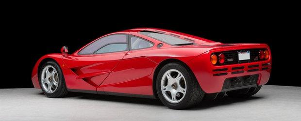 NOU record mondial: Un McLaren F1 s-a vandut pentru 10.5 milioane dolari!