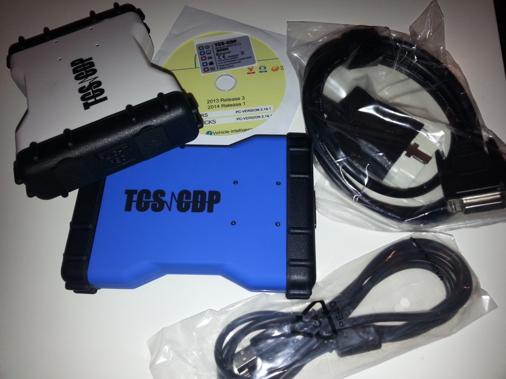 Nou vers. 2015.3 R3! TCS CDP Pro Plus new VCI Tester profesional RO