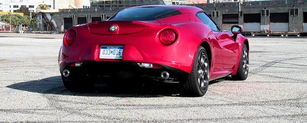 Noua Alfa Romeo 4C porneste in cucerirea Statelor Unite