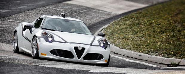 Noua Alfa Romeo 4C reuseste un 8:04 minute la Nurburgring