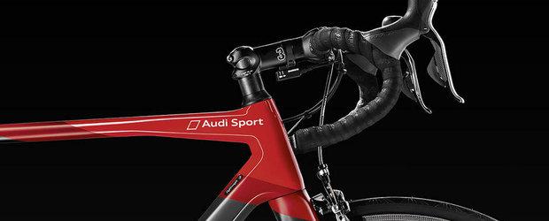 Noua bicicleta produsa de Audi e din fibra de carbon si costa 20.000 de dolari