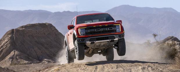 Noua camioneta a americanilor rupe tot in off-road. Ford confirma versiunea Raptor R cu motor V8