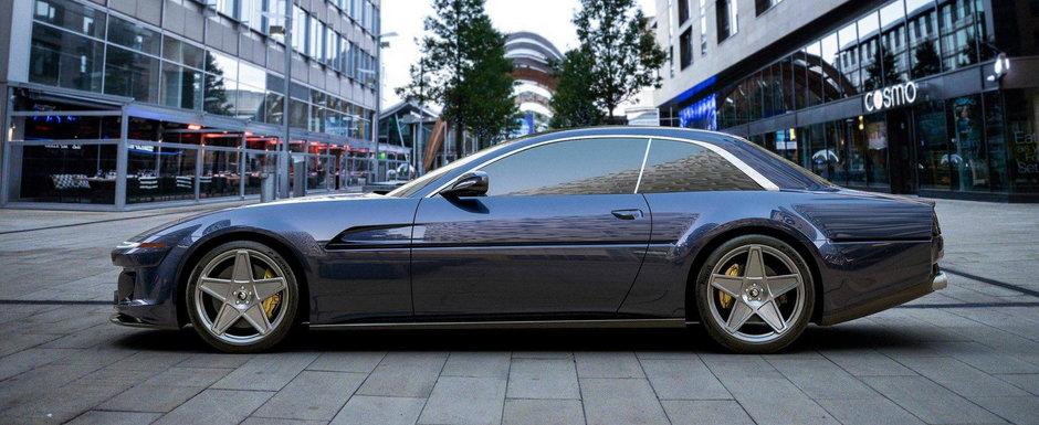 Noua creatie Ares Design este un Ferrari modern cu aspect retro. Cine nu si-ar dori asa ceva?
