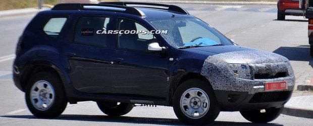 Noua Dacia Duster Facelift, surprinsa in primele imagini spion!