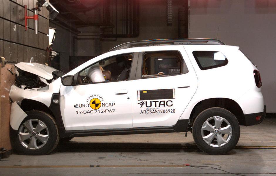 Noua Dacia Duster la Euro NCAP