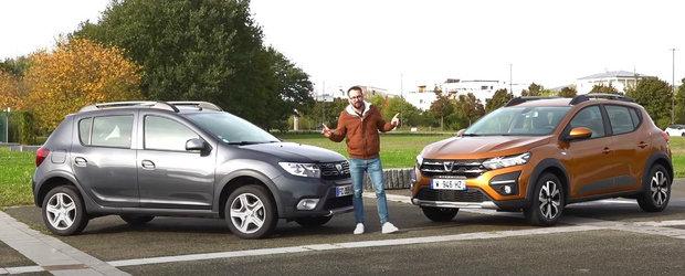 Noua Dacia Sandero este la ani lumina distanta de cea veche. VIDEO sa te convingi si singur
