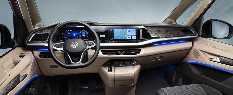 Noua dubita de la Volkswagen e mai desteapta decat multe masini cu pretentii. Foto ca sa te convingi si singur