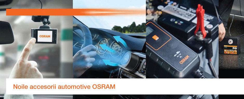 Noua gama de accesorii automotive de la OSRAM
