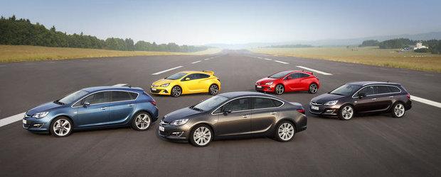 Noua gama Opel Astra: plus de varietate, motoare si dotari de inalta tehnologie