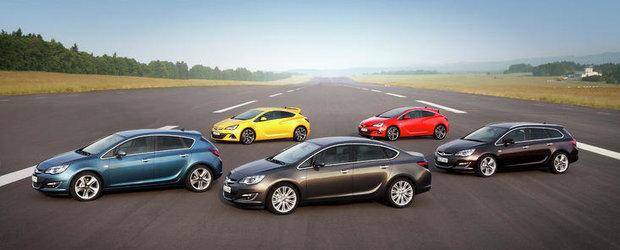 Noua gama Opel Astra: varietate sporita, mai multe motorizari si dotari de inalta tehnologie