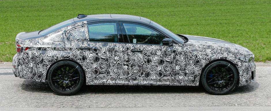 Noua generatie BMW Seria 5, scoasa la plimbare in haine de camuflaj