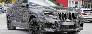 Noua generatie BMW X6 M suprinsa in premiera pe strazi. Puterea SUV-ului va sari de 600 de cai