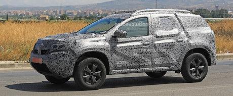 Noua generatie Dacia Duster scoasa in premiera in teste. Ce modificari va suferi SUV-ul romanesc