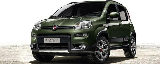Noua generatie Fiat Panda 4x4 va fi prezentata la Salonul de la Paris