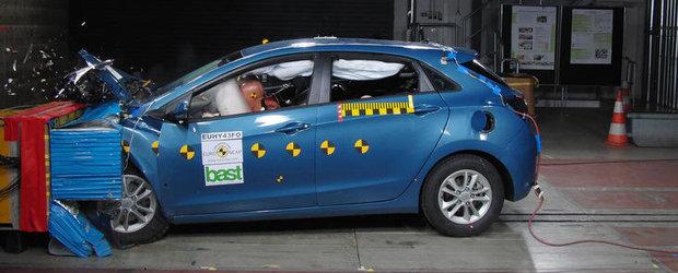 Noua generatie Hyundai i30 a obtinut cinci stele la testele Euro NCAP