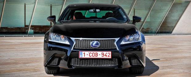 Noua generatie Lexus GS, premiata pentru sistemul de control al climatizarii