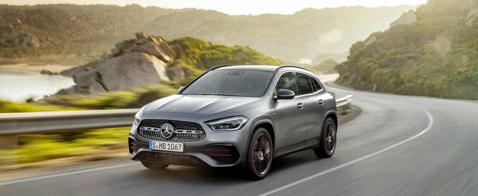 Noua generatie Mercedes-Benz GLA lansata cu motor de Renault si versiune AMG cu peste 300 CP