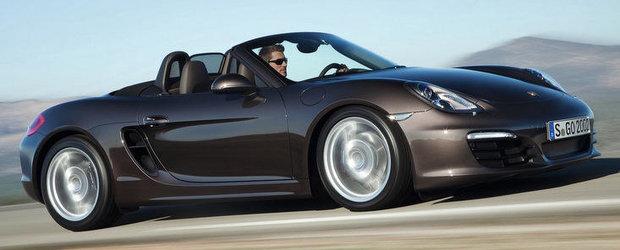 Noua generatie Porsche Boxster debuteaza la Geneva