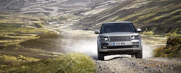 Noua generatie Range Rover debuteaza la Salonul Auto de la Paris