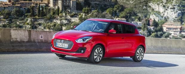 Noua generatie Suzuki Swift invadeaza piata din Romania la un pret competitiv