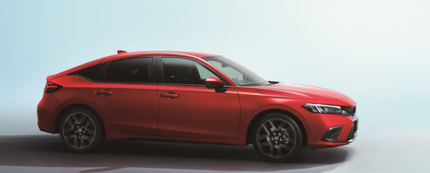 Noua Honda Civic Hatchback a debutat oficial. Cea de-a 11-a generatie e diferita de tot ce stiai