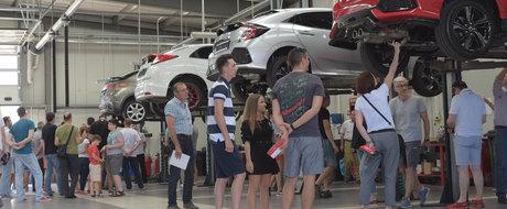 Noua Honda Civic prezentata fara ascunzisuri in cadrul unui eveniment inedit la Bucuresti