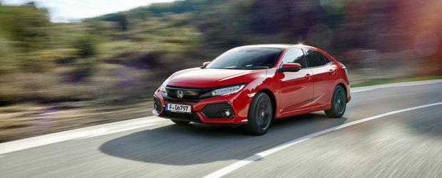 Noua Honda Civic primeste un motor diesel de 1.6 litri care consuma 3.7 litri/100 de km