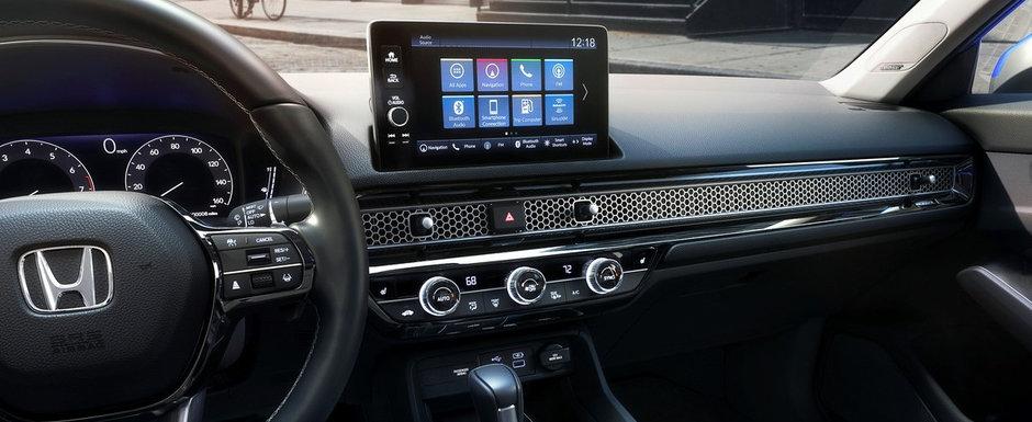 Noua Honda Civic Sedan a debutat oficial. Cea de-a 11-a generatie e diferita de tot ce stiai