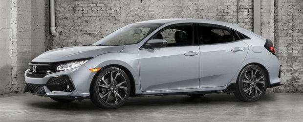 Noua Honda Civic si-a uimit audienta in Statele Unite. Japoneza ajunge doar anul viitor in Europa